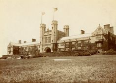 Brookings Hall at Washington University. (1905) Is someone on your gift list a graduate of Washington University in St. Louis? Give them a historical print of their alma mater from the Missouri History Museum's photos & prints collection. Framed prints start at $29.95. Browse our collections search for more: http://collections.mohistory.org/search/