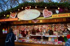 Romantic Marzipan Cookies at the Rathaus Christmas Market in Vienna