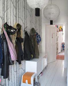 147 meilleures images du tableau papier peint couloir en. Black Bedroom Furniture Sets. Home Design Ideas