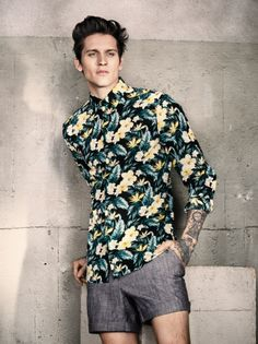H&M S/S14 Menswear Lookbook Update. #HM #Menswear #Mensfashion #SS14 #Fblogger