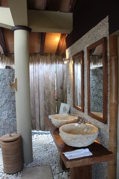 Le Domaine's Villas de Charme are ideally located against the slopes of the hillside to offer views over the the luxuriant and romantic tropical surroundings. #Architecture #Architect #Design #Designer #Royal #bungalow #Detail #Decor #Bathroom #jungle #life #vacation #RealPleasure #indianOcean #Seychelles #Islands #LaDigueIsland #LeDomaine's #DeL'Orangeraie #VillaDeCharme #villa #Hotel #luxury #Pleasure #inspiration