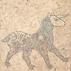 Das Einhorn ist ein pferdeähnliches Fabeltier mit einem Horn auf der Stirn. Es gilt als das edelste aller Fabeltiere und steht als Symbol für das Gute.