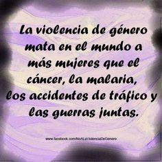 Desde Facebook, gracias a: No a la Violencia de Género