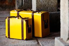 Nappa Dori Suitcases. Yes, please!!!