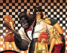 gorilla man | Jeff Parker and Ken Hale on 'Gorilla Man' and the End of ...