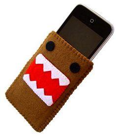Domo mobile phone felt case