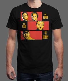"""""""THE GOOD, THE BAD, AND THE BOBBY"""" today on Qwertee : Limited Edition Cheap Daily T Shirts 