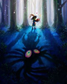 Gorgeous Artwork Released for Majora's Mask 3D