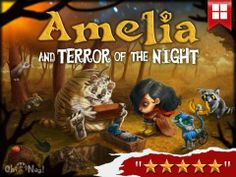 Discount: Amelia and Terror of the Night - Interactive Story Book for Kids is now 1.99$ (was 2.99$) #sale #4july #apps