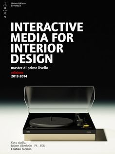 Tales from Interactive Media for Interior Design 2013-2014 Furniture: Braun, PS458– Robert Oberheim Modeling and rendering by Cristian Facchin. Toys: 3DS Max, V-Ray, Photoshop.