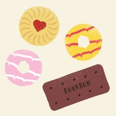Biscuits illustration - Jamie Nash