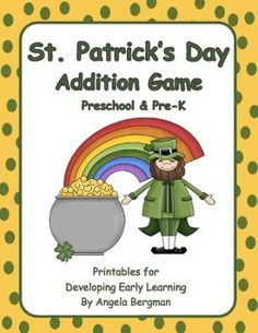 FREE St. Patricks Day Addition Game -  (20 pages)