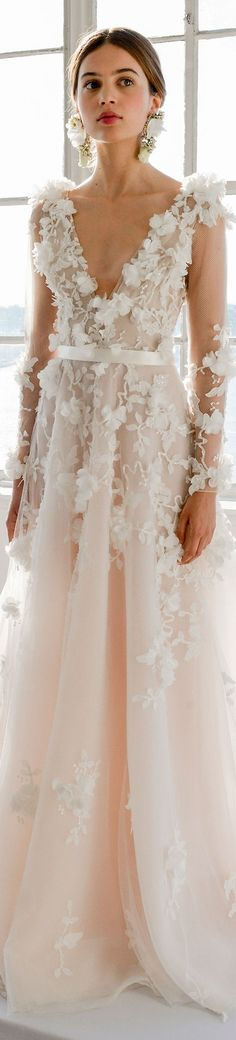 # wedding Marchesa Bridal Spring 2017 +