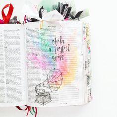 Bible Journaling by @kelsienoellee