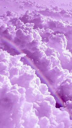 Rainbow in the clouds – Rhiz Keiren Arauban – – Regenbogen in den Wolken – Rhiz Keiren Arauban – … – Purple Wallpaper Iphone, Cloud Wallpaper, Rainbow Wallpaper, Iphone Background Wallpaper, Wallpaper Art, Pink Iphone, Screen Wallpaper, Wallpaper Quotes, Glitter Wallpaper
