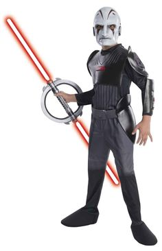 STAR WARS : Costumes and Toys : Deluxe Child Costume - The Inquisitor - Rebels