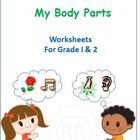 These worksheets are tailored for Grade 1 and Grade 2 kids. It can also used for Kindergarten to introduce the Sense Organs. It's a set of 7 worksh...