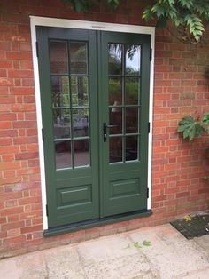 Bardwell timber French door with an off white frame and Fortnum sash \u0026 cill featuring astragal & Stratfield style Timber stable door in White with Silver threshold ...