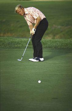 Jack Nicklaus at the 1971 PGA Championship at PGA National in Palm Beach Gardens, FLA