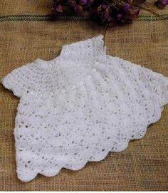 Les voy a enseñar algunos patrones para tejer vestidos de bebe en crochet con ganchillo, esta manualidad es preciosa que a mi principalmente me encanta.