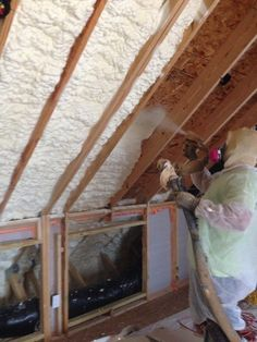 Wall ceiling spray foam insulation will save you up to 50 on your spray foam insulation installed in older house to save on energy installed by mpi foam solutioingenieria Gallery