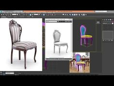 3ds Max - Tutorial - Model Chair Classic Advanced_Step 01 - YouTube