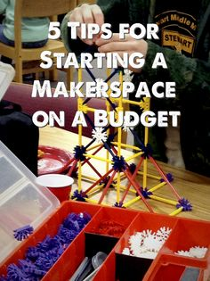 """When I talk to other librarians and educators about starting a school Makerspace, one of the most common things I hear is: """"I'd love to do (insert cool Maker activity) at my school, but we don't ha..."""