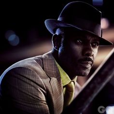 Mad Props, Idris!  Nothing says swag mo betta than a black man rockin a fedora & NOT looking like a pimp! .