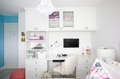 Every drawer is filled with surprises in this Children's Wish bedroom transformation!