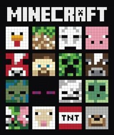 You're going to love Minecraft Quilt Finishing Instructions by designer Tricia_Curtis. You're going to love Minecraft Quilt Finishing Instructions by designer Tricia_Curtis. Minecraft Crafts, Minecraft Kunst, Minecraft Pixel Art, Minecraft Designs, Hama Beads Minecraft, Minecraft Nails, Minecraft Party Decorations, Minecraft Blanket, Minecraft Pattern