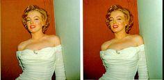 Marilyn Monroe Stereo Image - mm3d1