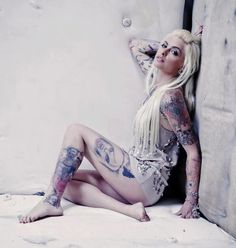 Armpits Suicide girls hairy
