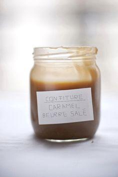confiture caramel au beurre salé (salted caramel spread)