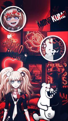 Danganronpa Junko, Anime Lock Screen, Danganronpa Trigger Happy Havoc, Anime Wallpaper Phone, Anime Kawaii, Animes Wallpapers, Cute Art, Haikyuu, Anime Characters