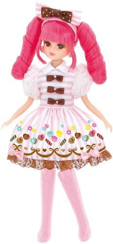 TAKARA TOMY Licca Doll Rika-Chan LD-14 Exciting shopping New japan