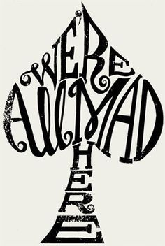 I am 99.9% sure Ill never get another tattoo … but this is kind of cool. Alice in Wonderland. possible tattoo idea | best stuff