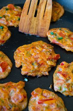 Tomato Fritters   giverecipe.com   #tomatorecipes #summerrecipes #frittersrecipe…