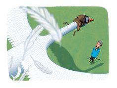 Golf Magazine Illustrations