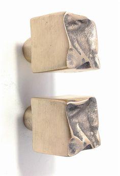 Furniture Handles » Crushed drawer knob - Philip Watts Design