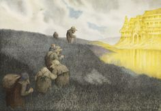 Theodor Kittelsen - On a way to the Feast in the Trollcastle, 1904 by Aeron Alfrey, on Flickr