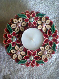 świecznik-quilling