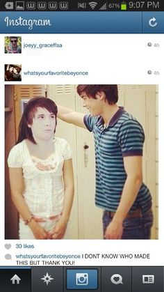 I seriously love whoever made this thank you. It is probably Dan's dream lol