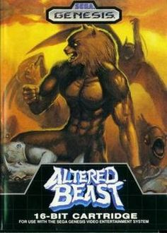 Altered Beast. many quaters at the 7/11