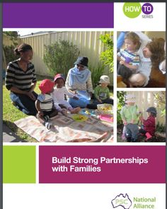 This guide explains how to build string partnerships with families, especially those new to the service or how new staff can introduce themselves to families Early Childhood, Families, Strong, Building, Wedding Ring, Infancy, Buildings, My Family, Childhood