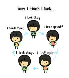 Ya, that's pretty much how I cycle my looks, lol