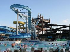 Schlitterbahn Waterpark - New Braunfels, Texas. Justin and I are talking about doing a day trip here this summer because I WANT TO GO.