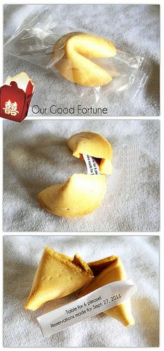 Pregnancy fortune cookie announcement!!This is an awesome way to tell loved ones!