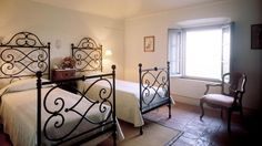 Classic Tuscan wrought iron beds