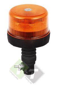 Zwaailamp Led Oranje Waarschuwingslamp Flex 12 24v Led Metalen Dak Blauwe Lampen