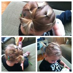 Toddlers hair style #thinhair #toddlerhair #hairstyles